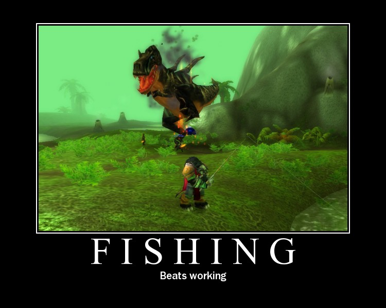 Master of world of warcraft june 2009 for Wow fishing guide